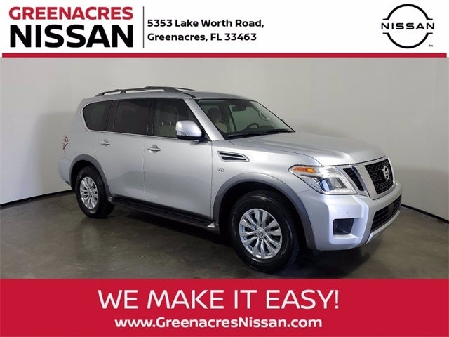 2018 Nissan Armada SV For Sale West Palm Beach In Greenacres, FL    Greenacres Nissan