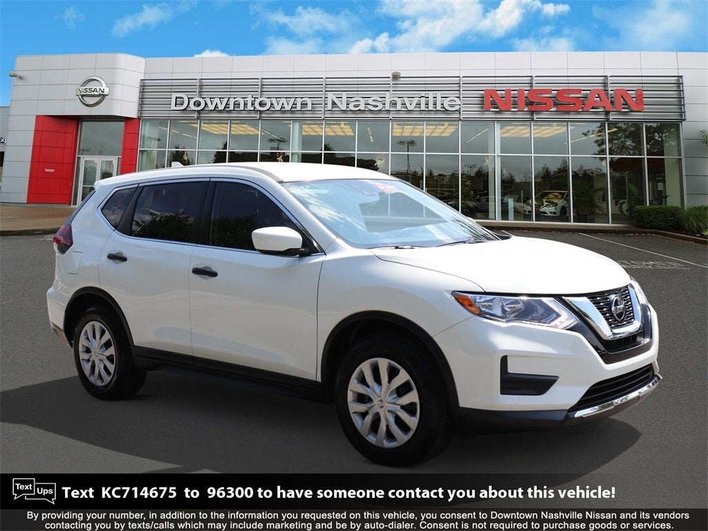 Used 2019 Nissan Rogue S for Sale | Greenacres Nissan